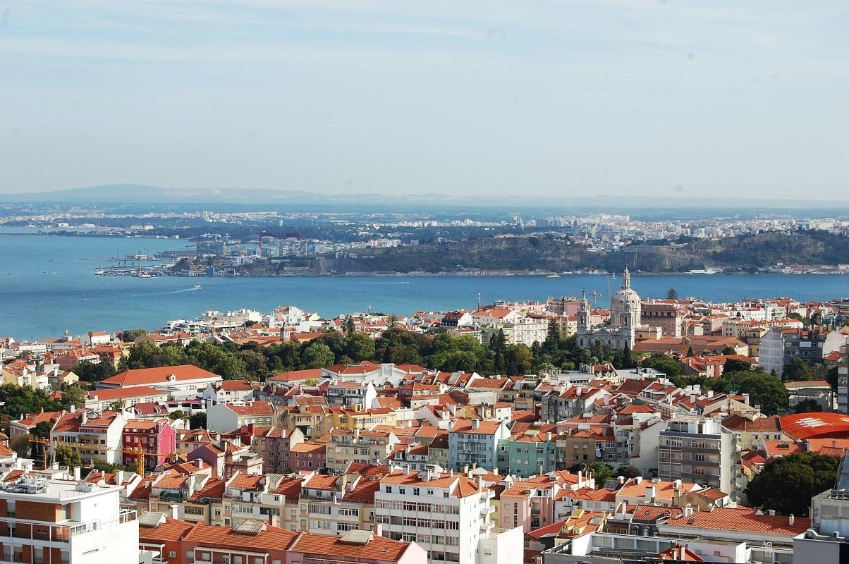 belvédère des Amoreiras à Lisbonne