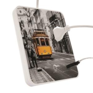décor tram 28 pour la multiprise EGG electronics
