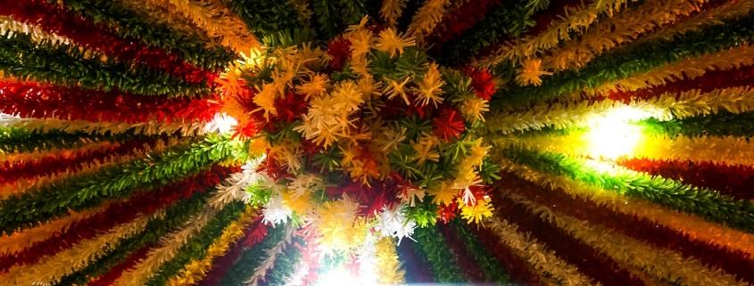 Les décorations des fêtes de juin à Lisbonne