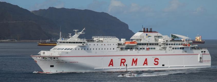 Ferry entr el'espagne, le Portugal et Madère