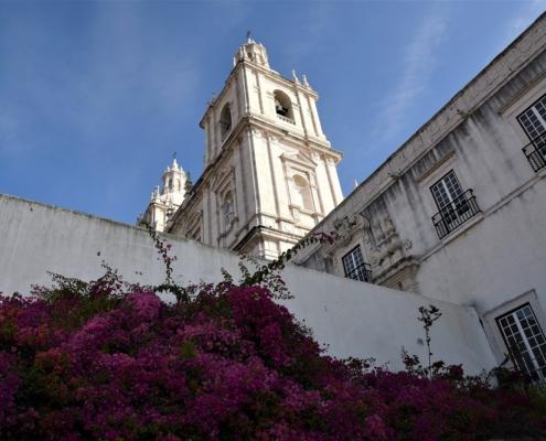St Vincent monument baroque à Lisbonne
