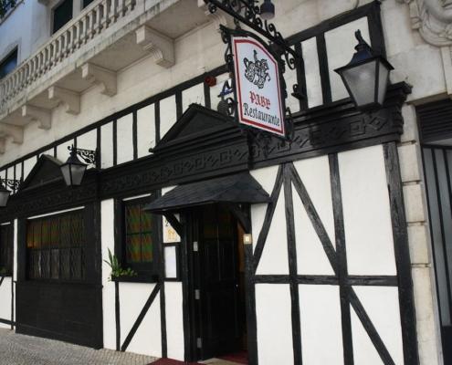 Un restaurant de Lisbonne aux airs de Pub mais à la cuisine portugaise