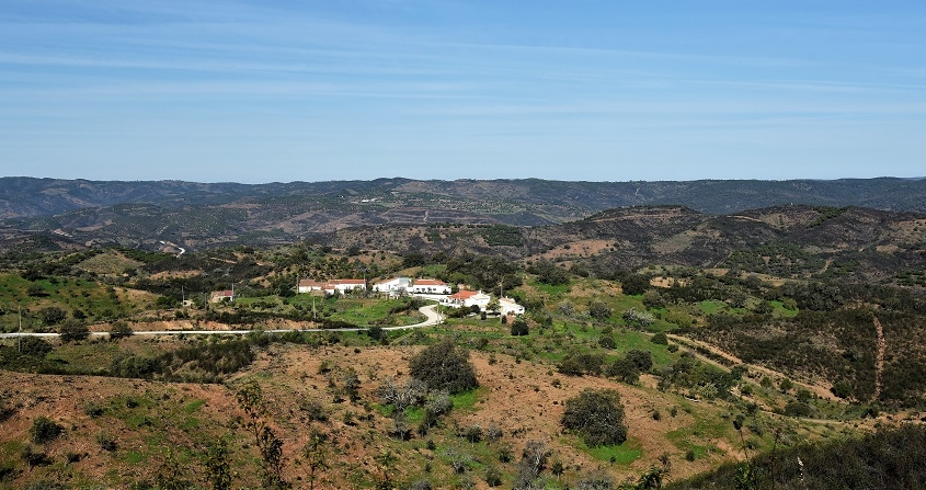 paysage typique d'Algarve