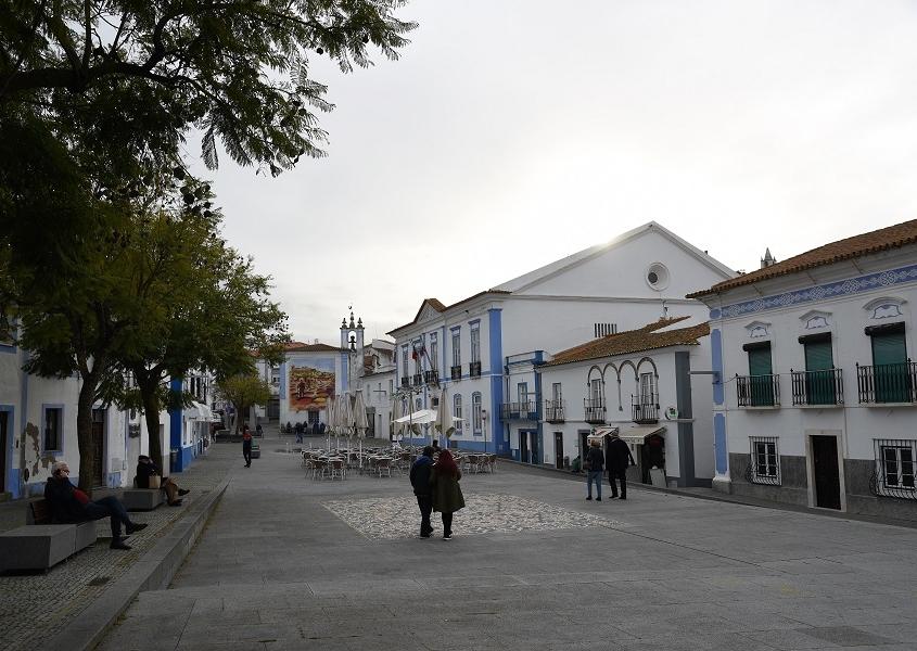place centrale d'Arraiolos