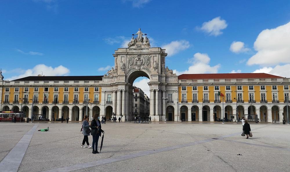 Terreiro do Paço Lisbonne