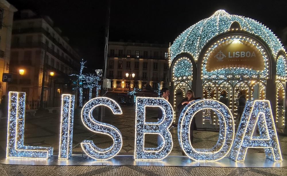Lisbonne décorations de Noël